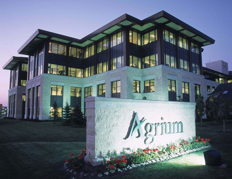 Agrium Phosphate Office Building Soda Springs, Idaho